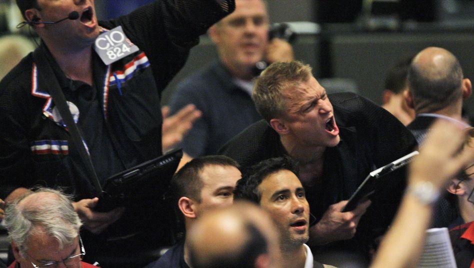 """Händler an der Chicagoer Börse: """"Ich habe das Gefühl, wir sind nicht mehr in Kansas"""""""