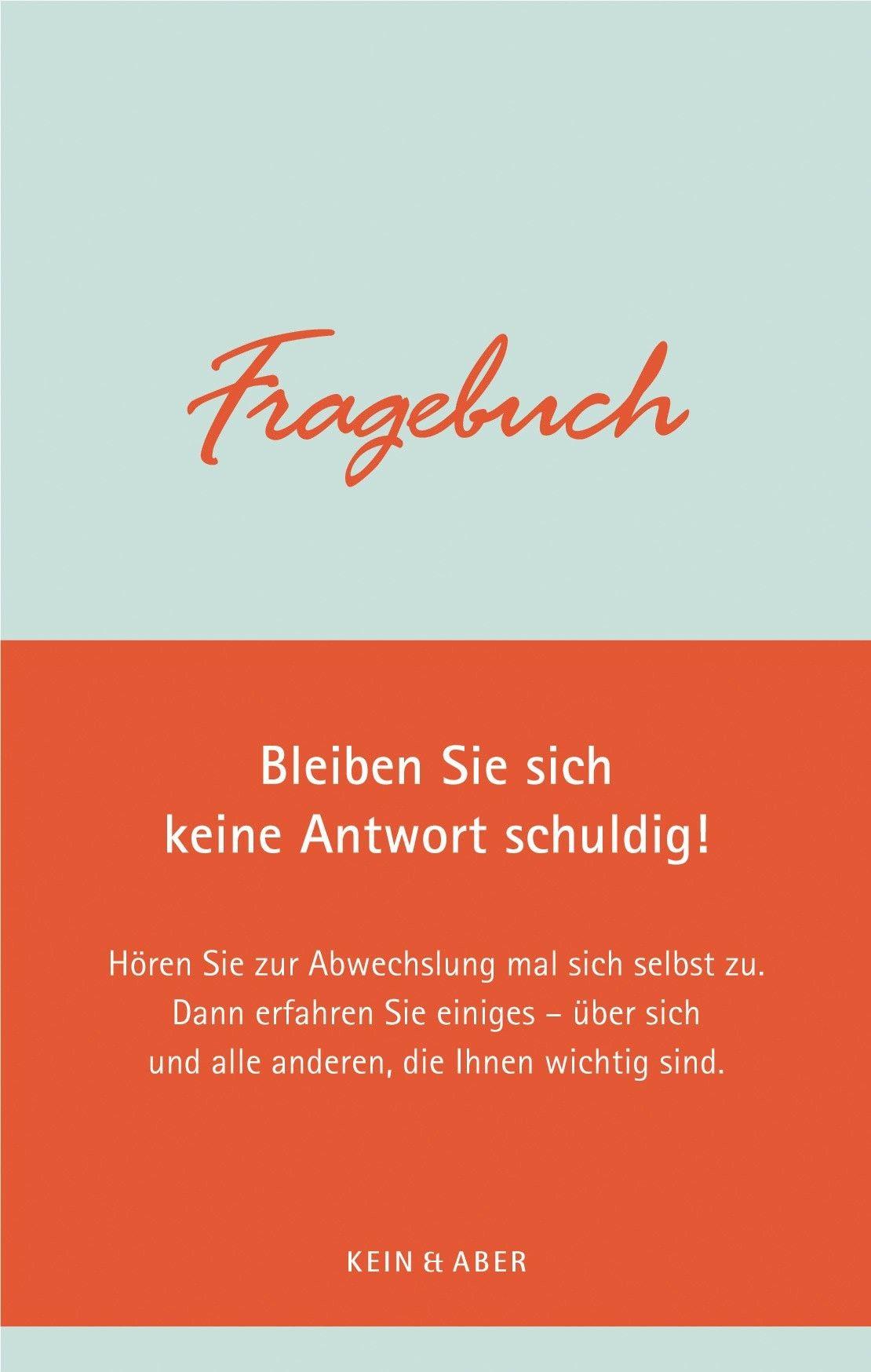 Tageskarte 21.12.09 Buch Fragebuch