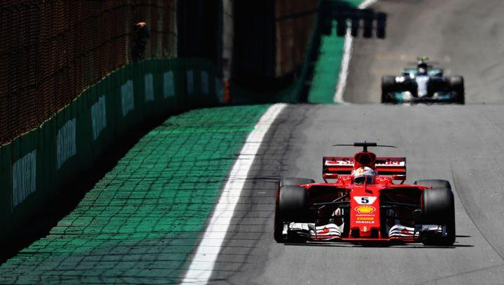 Vettel-Erfolg in São Paulo: Sieg dank Turbo-Start