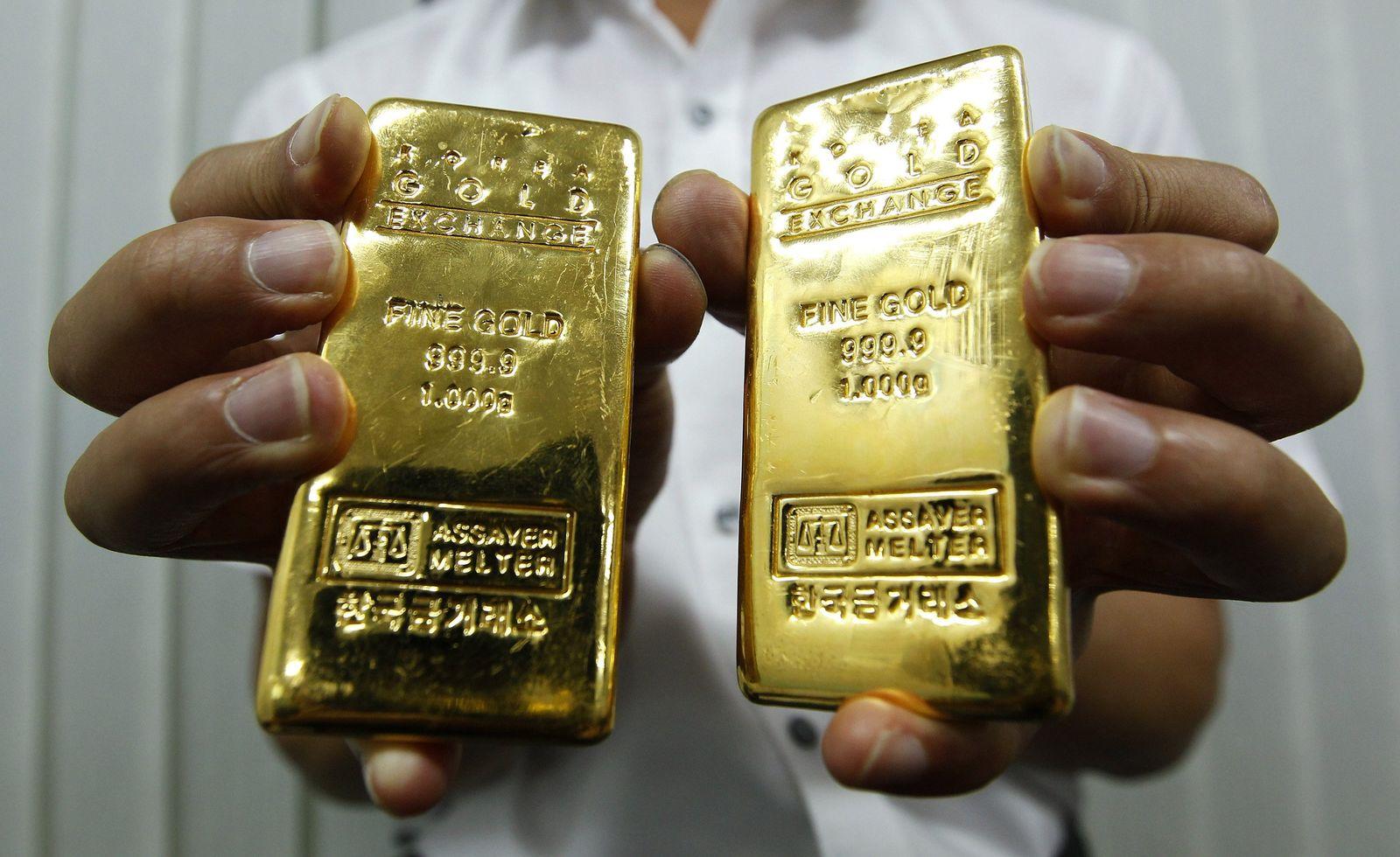 Gold/ Goldbarren