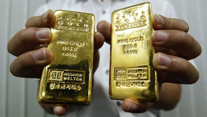 Schuldenkrise: Die Tücken des Goldpreises