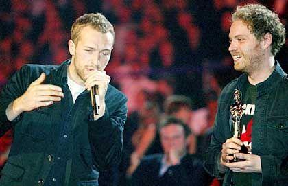 Ohrwurm-Produzenten Coldplay: Platten-Promotion per Klingelton