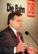 Bahn-Chef Mehdorn bei Pressekonferenz: Weitere Strafanzeige angekündigt