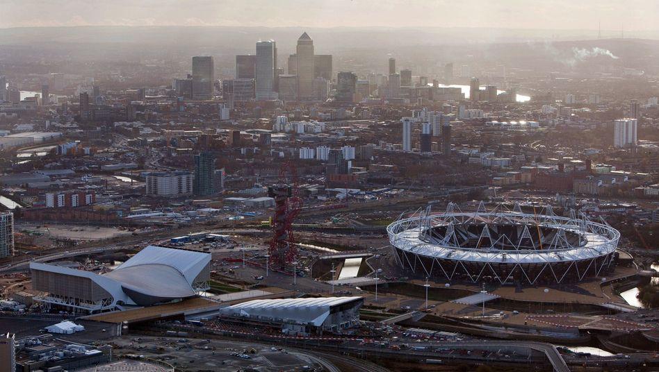 Olympisches Gelände in London: Funktionär soll über Eintrittskarten-Deals gesprochen haben