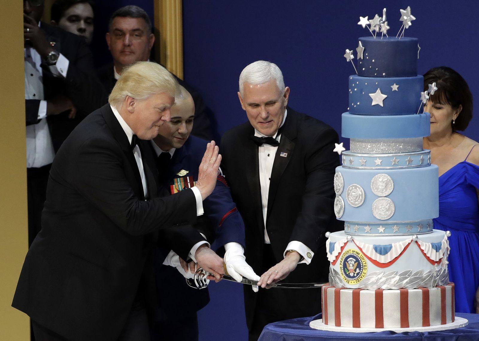 Amtseinführung Trump - Military Ball