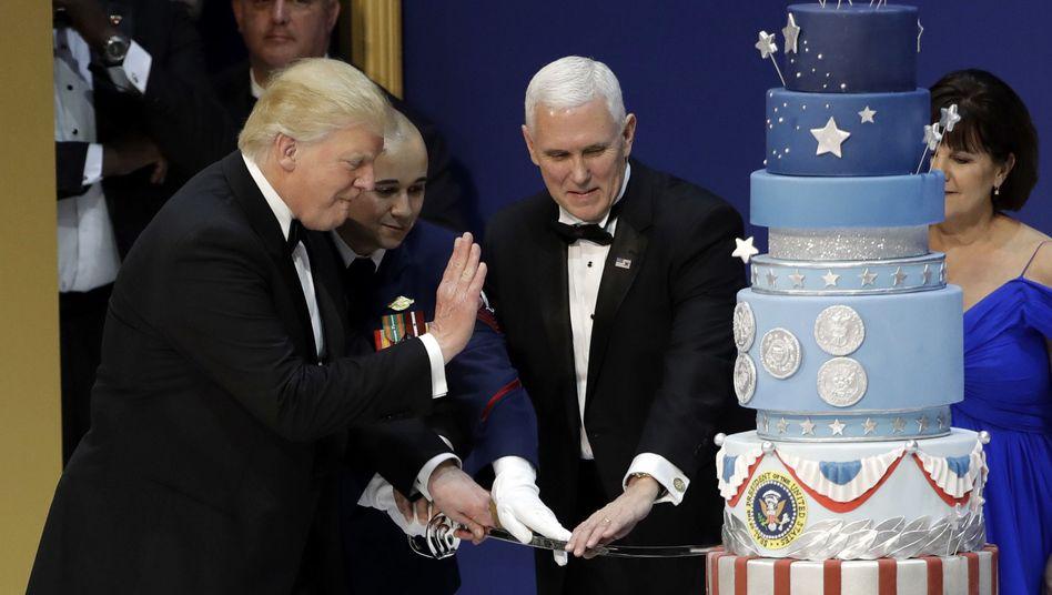 US-Präsident Trump und die kopierte Torte