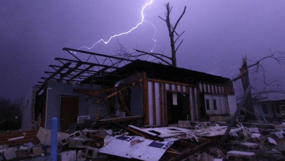 Weihnachtswetter 2015: Stürmische Nacht, heiße Nacht