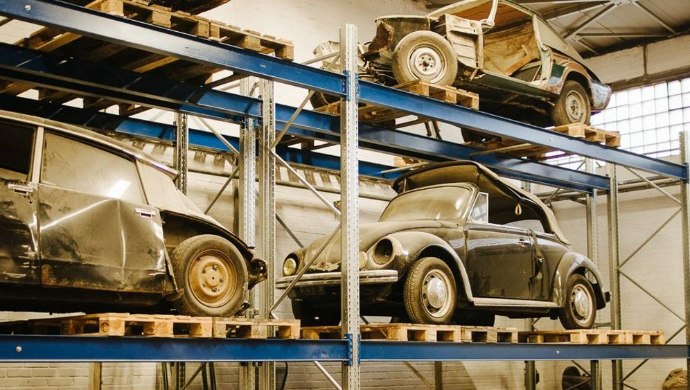 Oldtimer-Sammler Manfred Wolf: Begleiter aus Blech