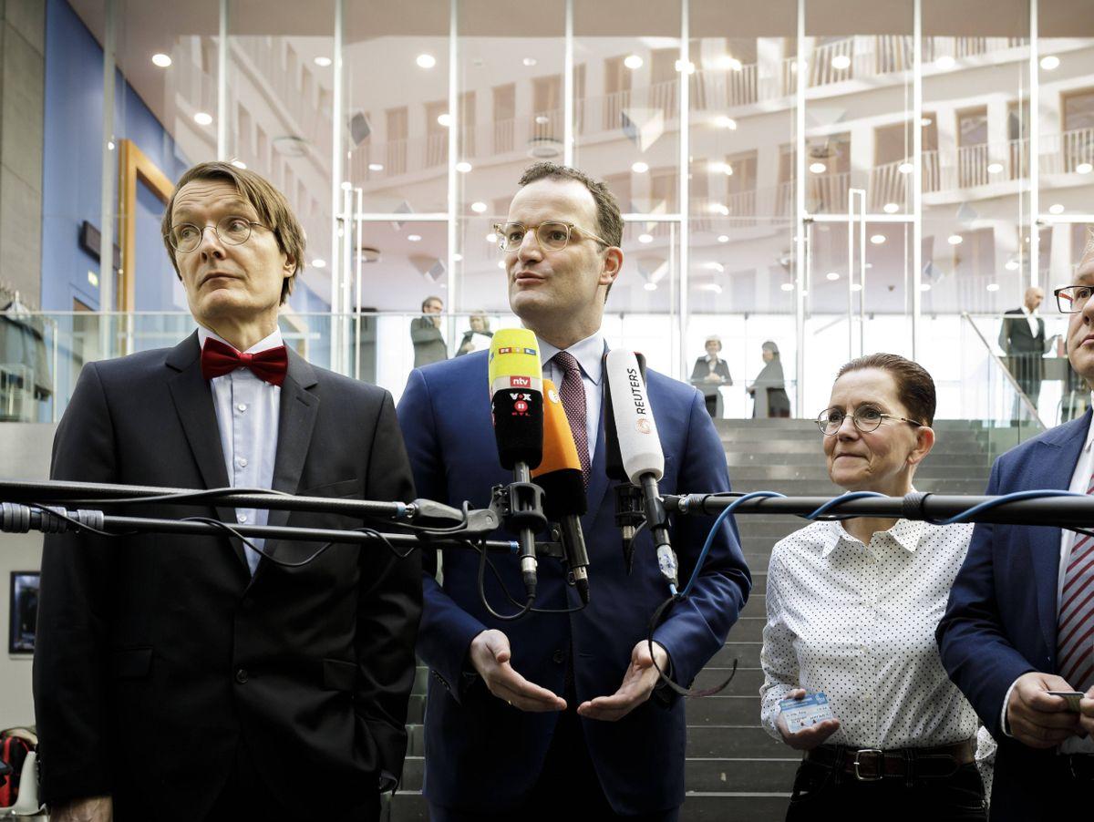 Jens Spahn Und Karl Lauterbach Der Professor Und Sein Minister Der Spiegel