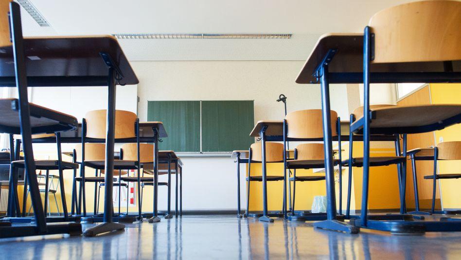 """Klassenraum ohne Schüler: """"Schulen werden nicht mehr sein wie vor Corona"""""""