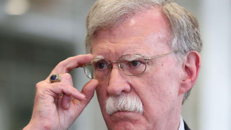 Impeachment gegen Trump: Weißes Haus will offenbar Veröffentlichung des Bolton-Buchs verhindern