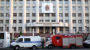 Russische Journalistin zündet sich nach Razzia an und stirbt