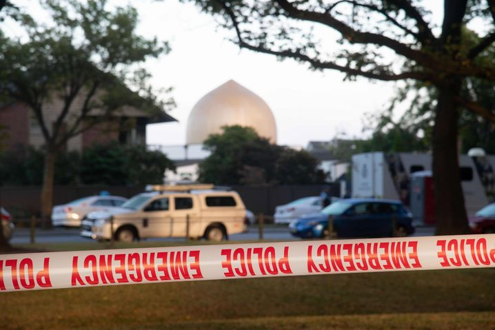 Tatort in Christchurch vor fast zwei Jahren