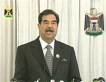 Saddam Hussein hat möglicherweise Restbestände alter Raketen gehortet