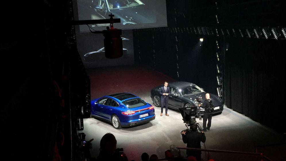 Weltpremiere Porsche Panamera: Luxus in Limousinenform