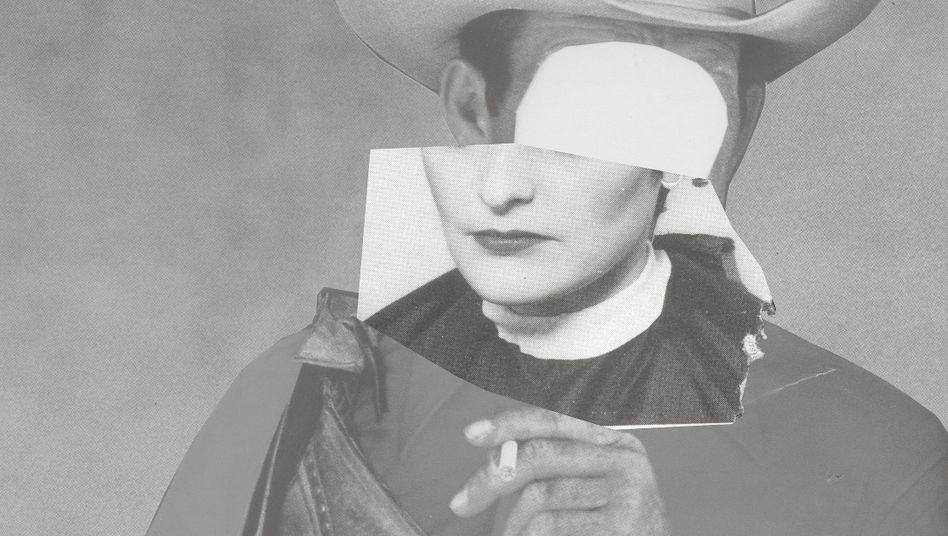 Werbe-Ikonen Der Marlboro-Mann, der Brandt-Zwieback-Junge und Frau Antje aus Holland verschwinden, an ihre Stelle treten unbekannte Gesichter: So sieht unsere Illustratorin The Scissorhands die neue Werbung