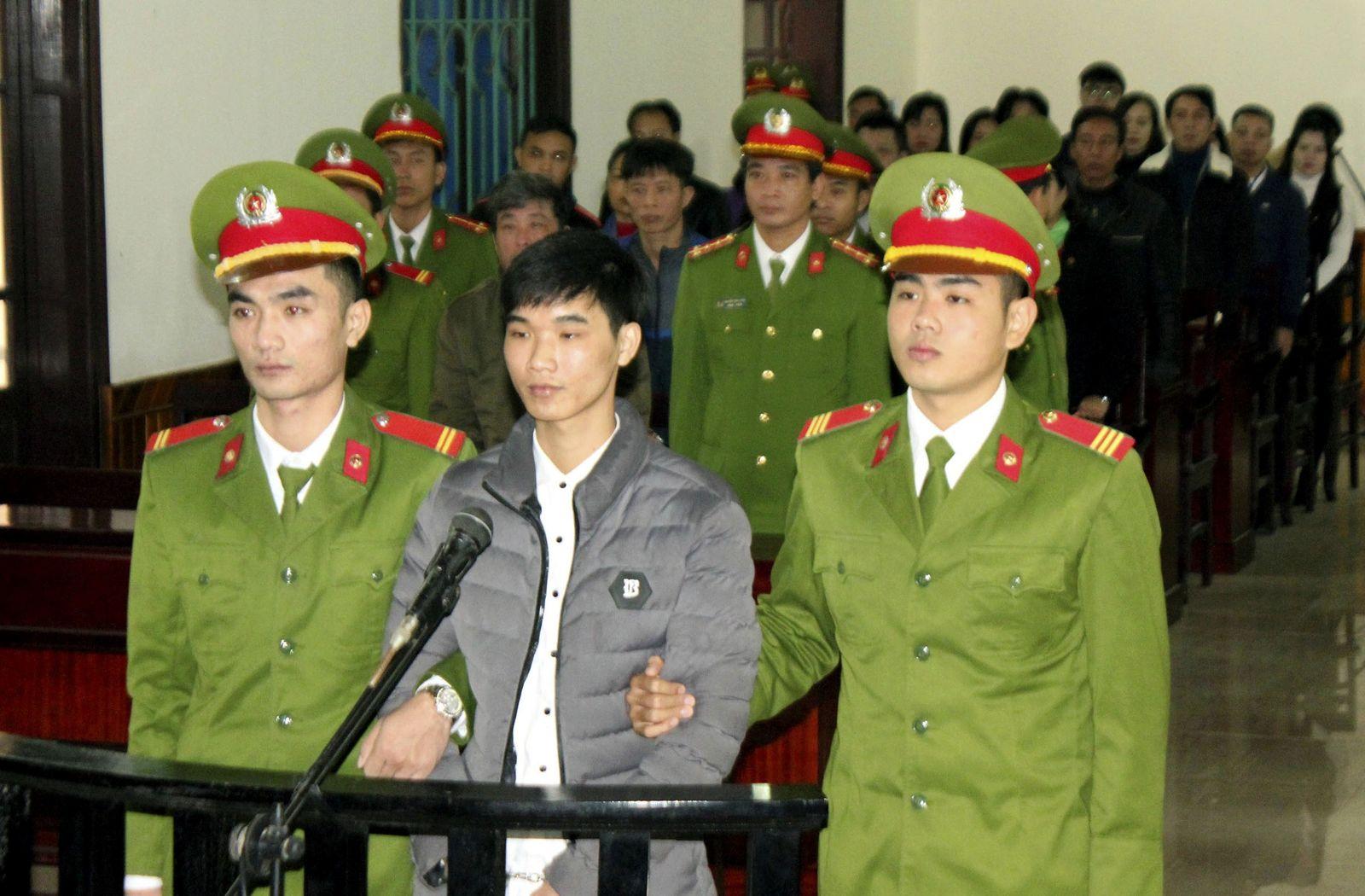 Vietnam Activist Trial