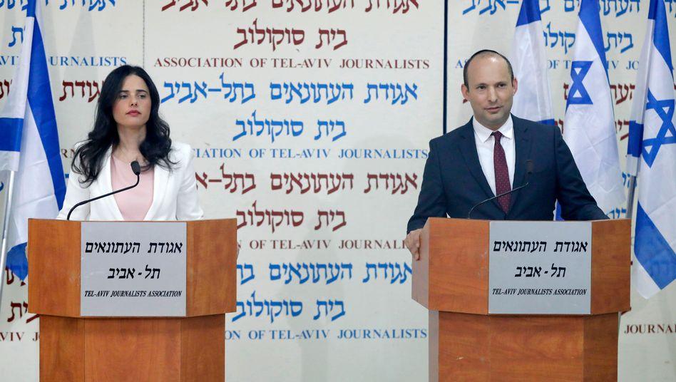 Ayelet Schaked und Naftali Bennett