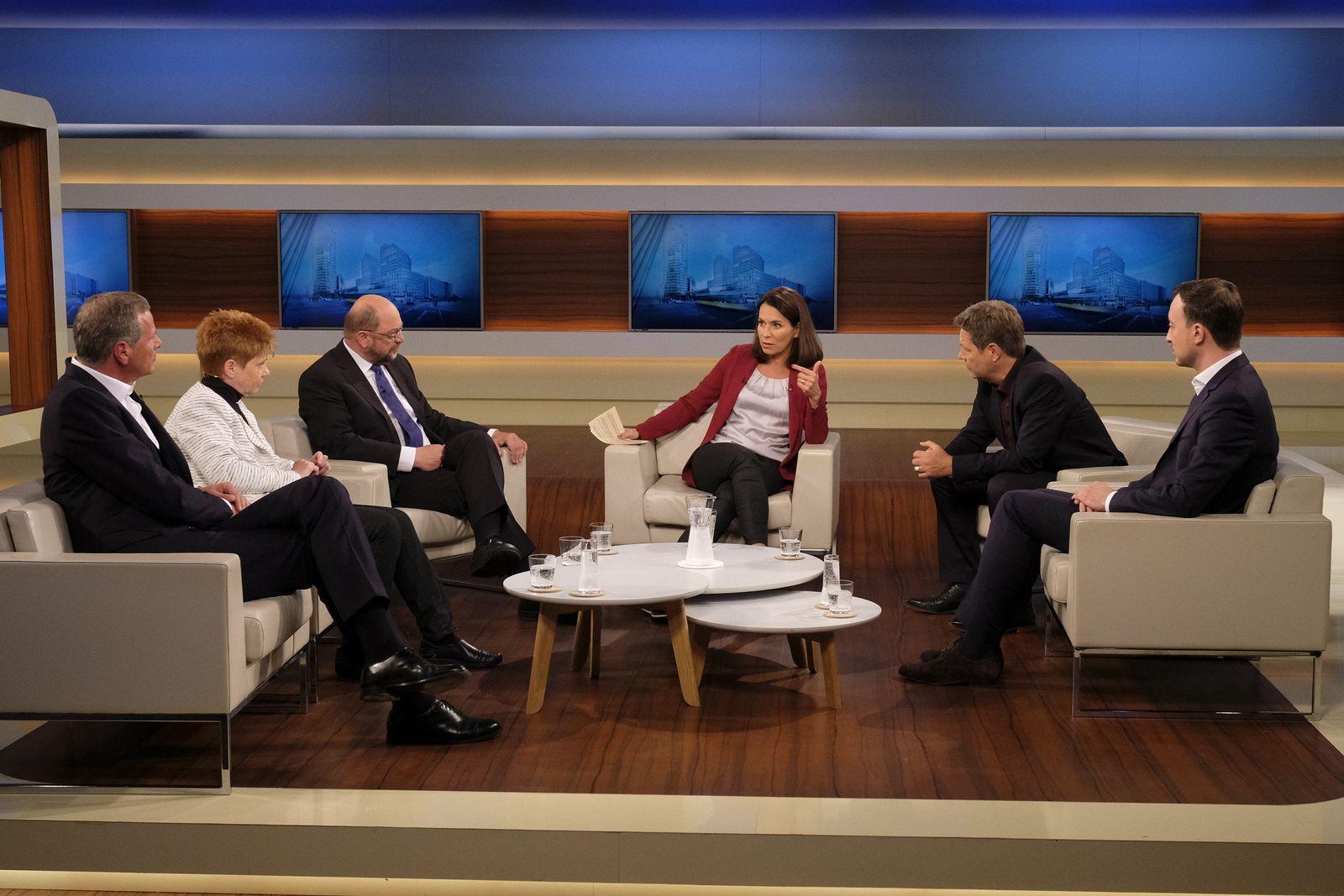 EINMALIGE VERWENDUNG TV/ «Anne Will»/ 16.09.18