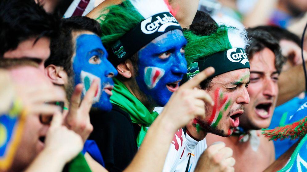 Italien vs. Irland: Cassano klasse, Trapattoni tobt