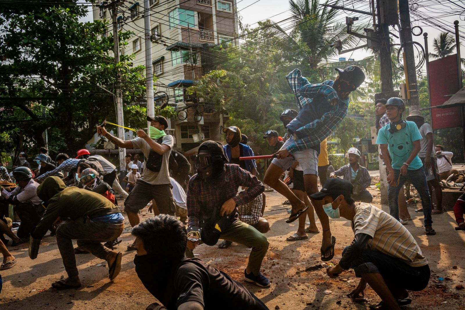BESTPIX - Myanmar Protests Continue On Deadliest Day Since Coup