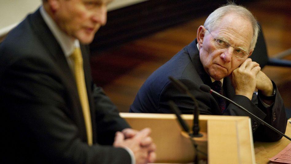 """Irischer Premier Kenny, Finanzminister Schäuble: """"Das ist nicht das erste Leck in Berlin"""""""