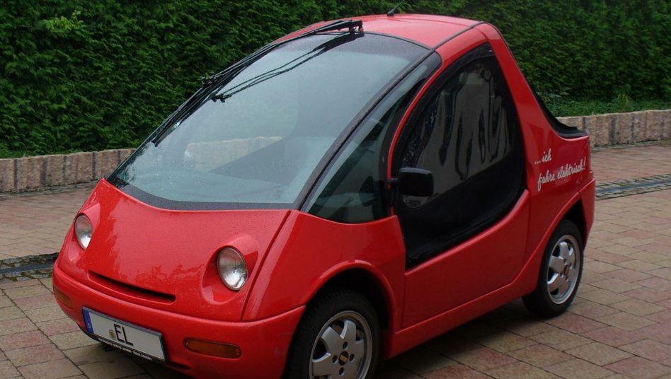 Hotzenblitz hieß das Elektroauto, das ein Start-up aus dem Schwarzwald 1993 auf die Räder stellte. In Zukunft soll der Knirps mit einem Wasserstoff-Hybrid-Antrieb reaktiviert werden