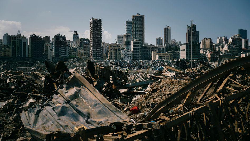 Beirut nach der Explosion: »Im Libanon gibt es niemanden mit der nötigen politischen Statur, der für einen tatsächlichen Neuanfang stehen könnte«