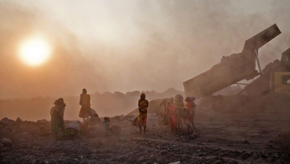 Kohleabbau in Indien: Abhängigkeit von fossilen Brennstoffen