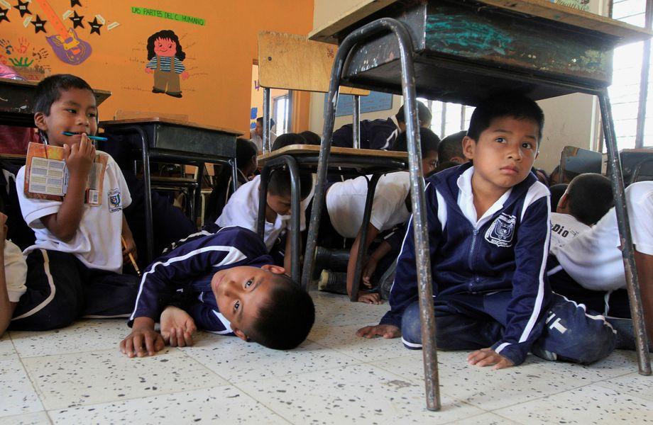 Schulkinder in Toribío (Archivbild)