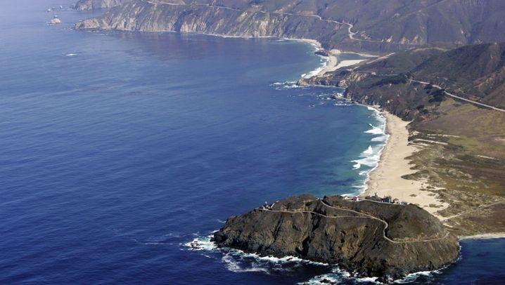 Verschüttet: Kaliforniens Highway 1