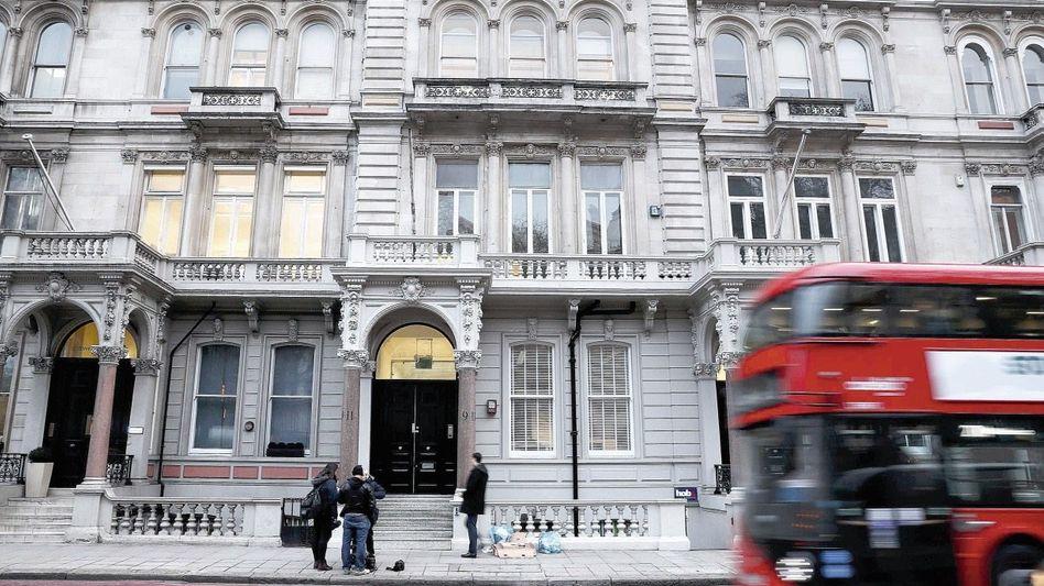 Sitz der Firma Orbis Business Intelligence in London: Komplexe Recherchen innerhalb kurzer Zeit