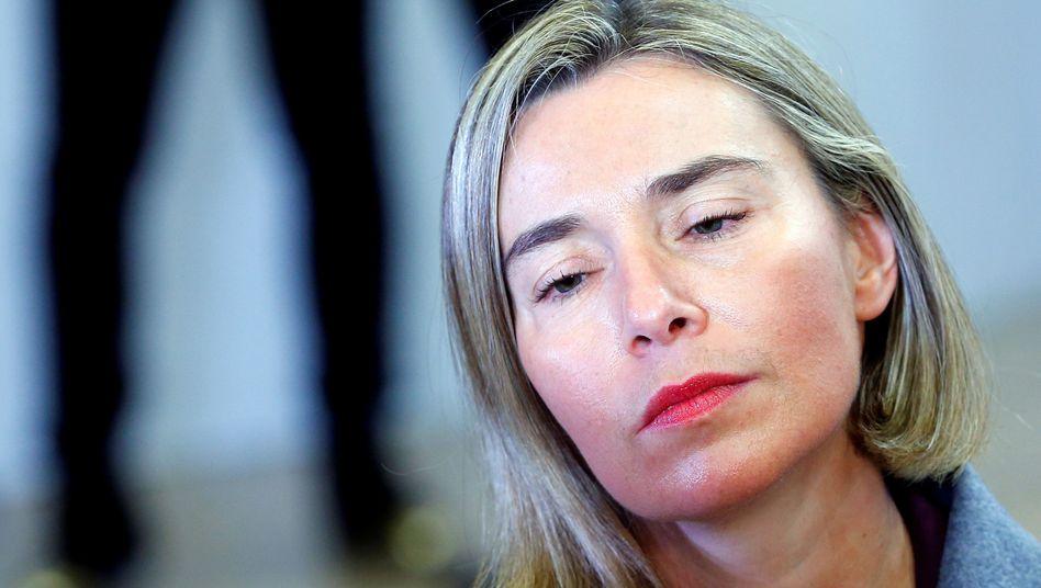 EU-Außenbeauftragte Mogherini