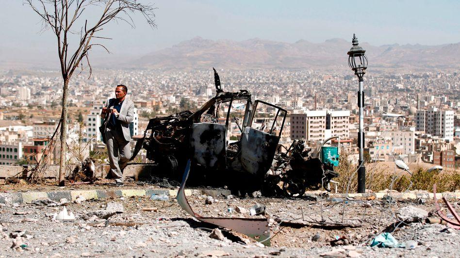 Blick über Sanaa