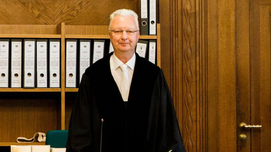 Matthias Schertz: Vorsitzender Richter