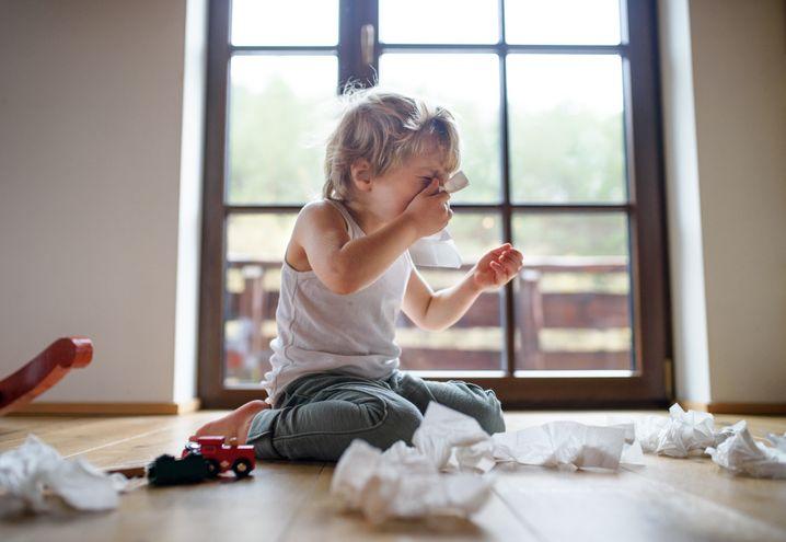 """Erkältetes Kind: """"Schnupfen oder Husten? Ab in die Kita"""""""