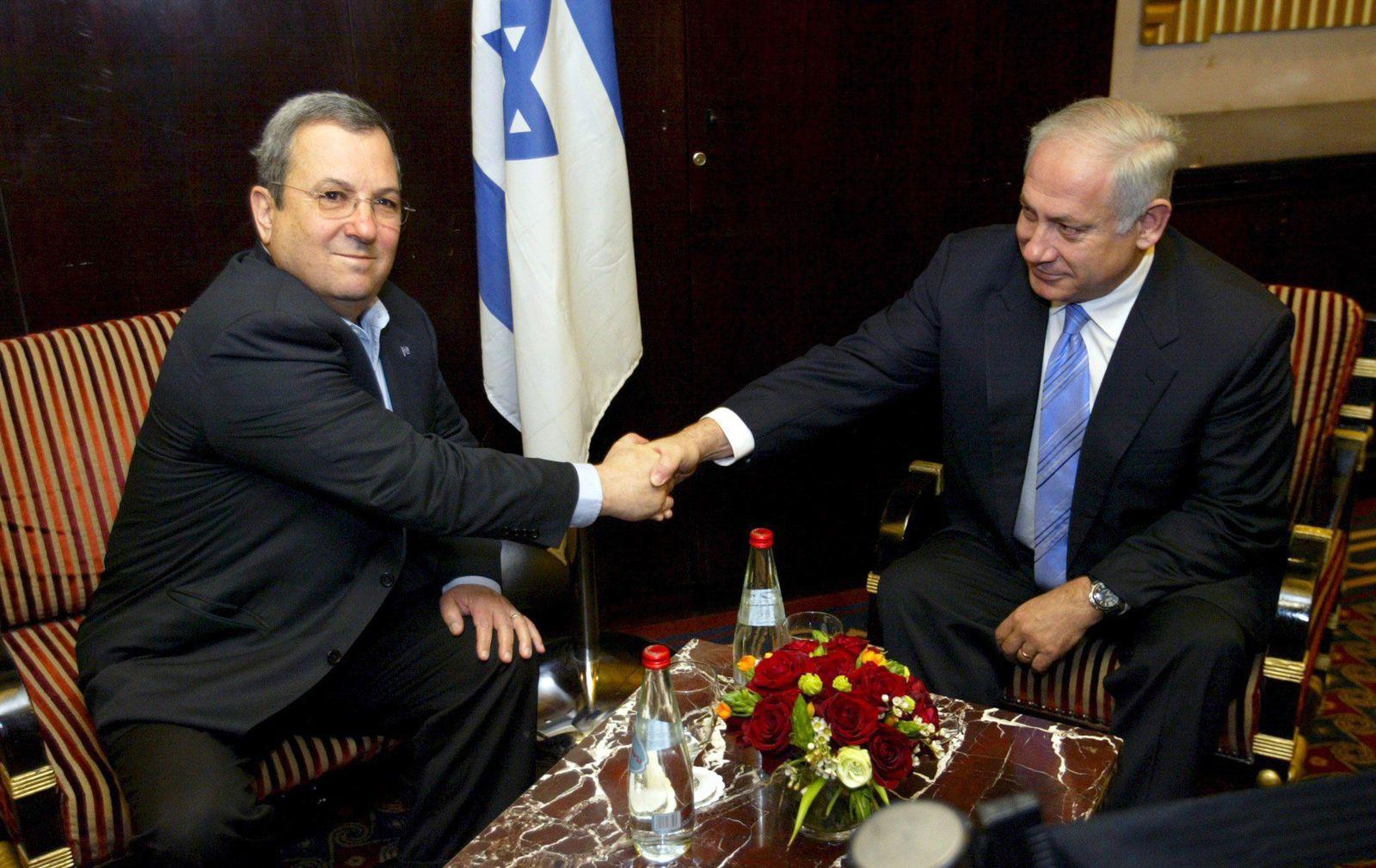 Netanjahu / Ehud Barak / Israel