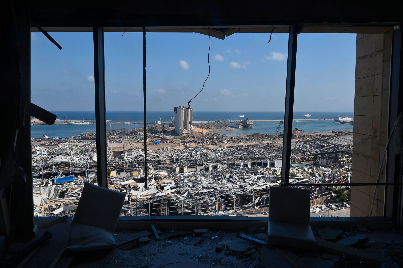 One year anniversary of Port explosion in Beirut
