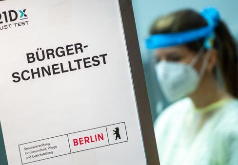 In Berlin sind die Schnelltest-Zentren für Bürger ab heute in Betrieb