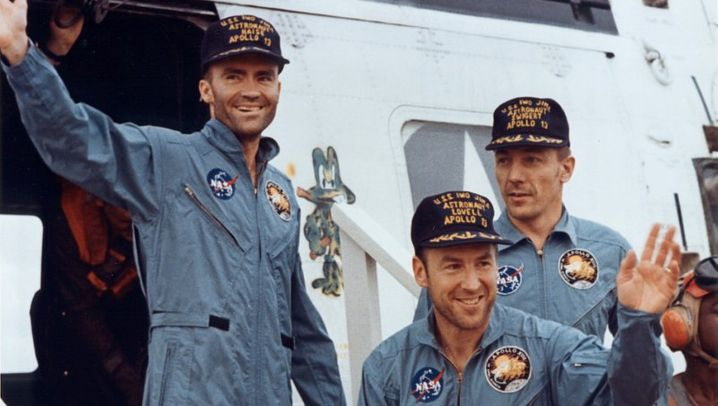 """Odyssee der """"Odyssey"""" - die Pannen-Mission von """"Apollo 13"""""""
