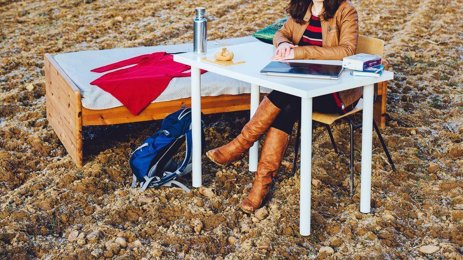 Studentin Judith Gebbe: Ein bewussterer Konsum macht sie zufriedener