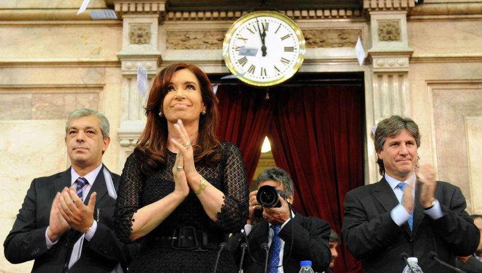 """Präsidentin Cristina Kirchner im Parlament: """"Sie hat kein Modell für das Land"""""""