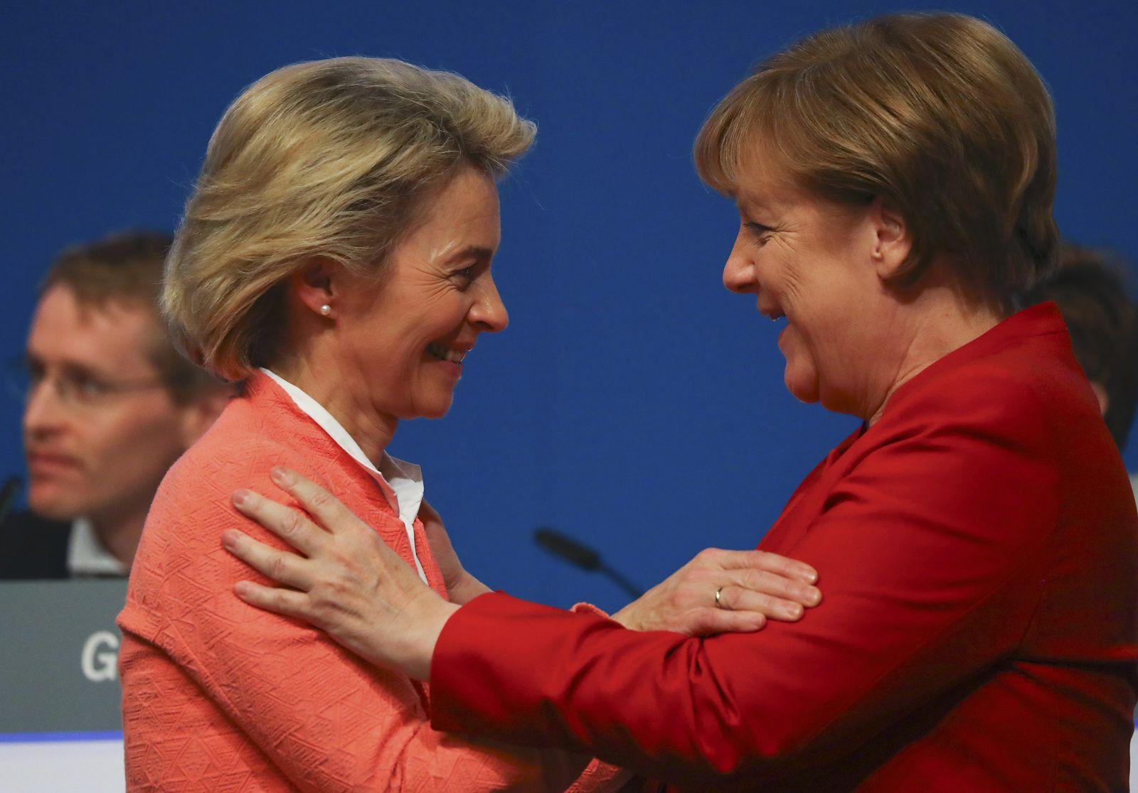 Merkel / von der Leyen