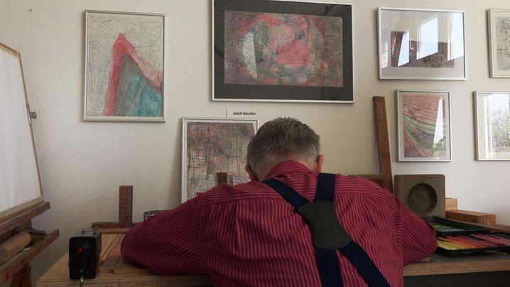 """Adolf Beutler in """"Kunst kommt aus dem Schnabel wie er gewachsen ist"""""""