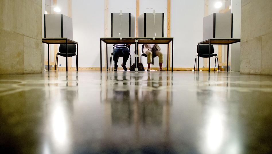 Wähler in Hannover (Archivbild)