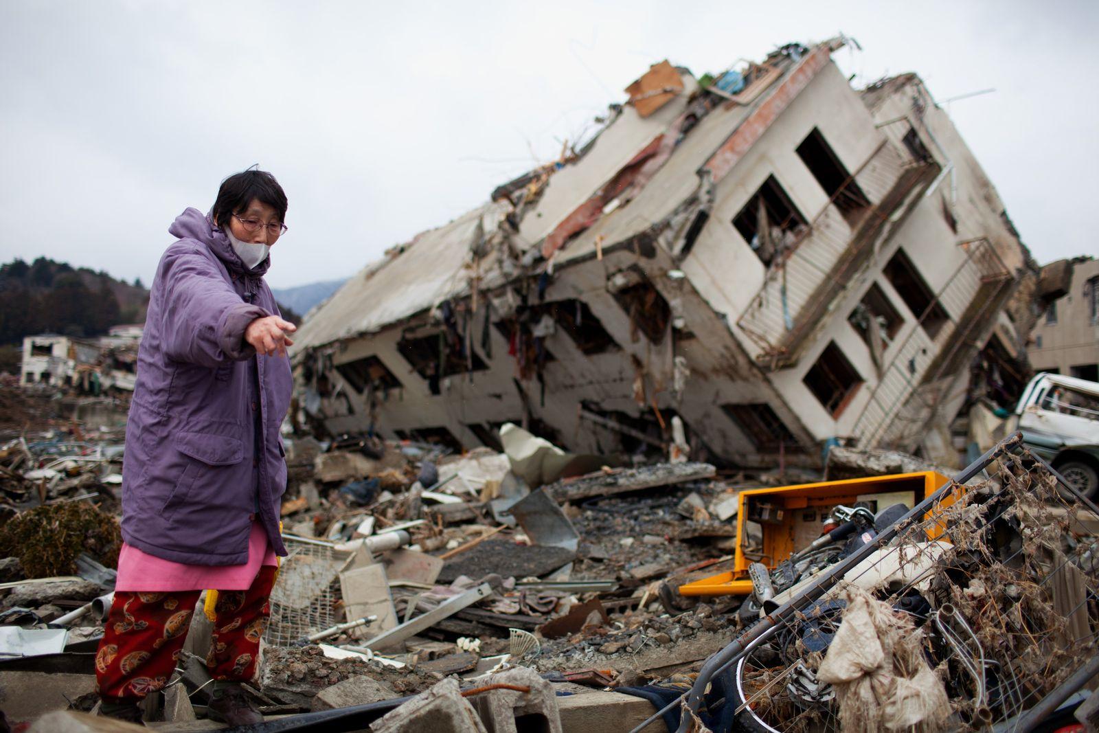 Japan Zerstörung