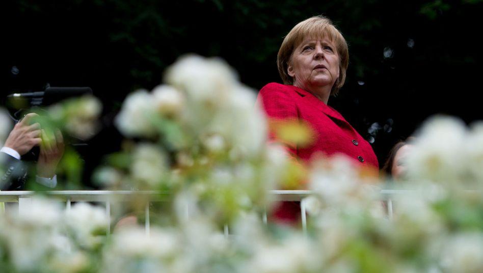 """Kanzlerin Angela Merkel: """"Das Vorgehen des SPD-Vorsitzenden ist zynisch"""""""