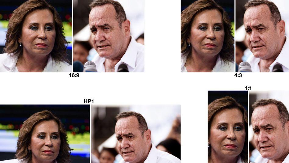 Zwischen ihnen wird es sich entscheiden: Sandra Torres und Alejandro Giammattei gehen in Guatemala in die Stichwahl
