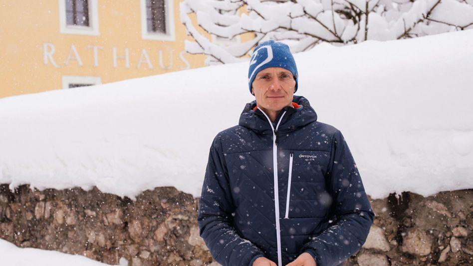 Franz Rasp, Bürgermeister, Bauingenieur und Skilehrer