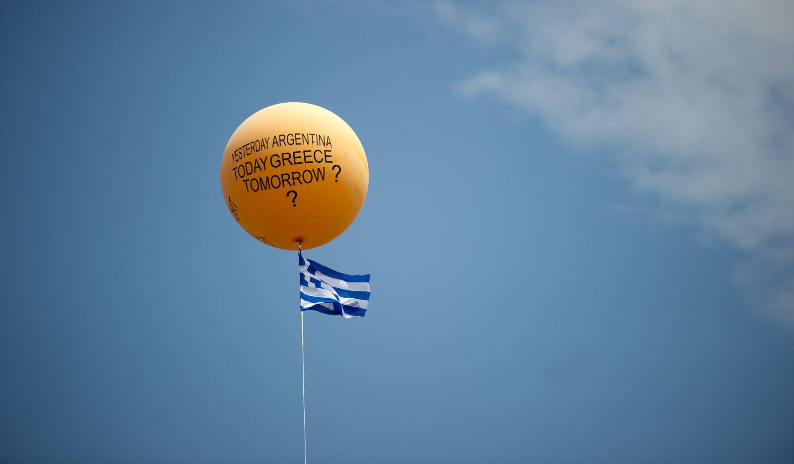 Griechenland Proteste Mittwoch